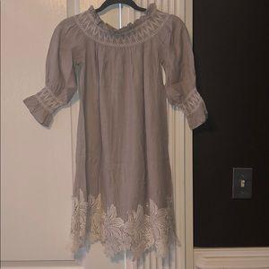 Anthropologie Off the Shoulder Dress Size XXS